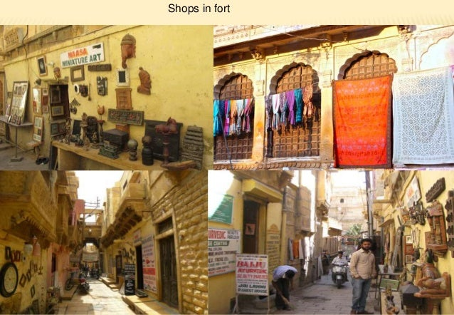 Vernacular Arch Of Jaisalmer Rajasthan