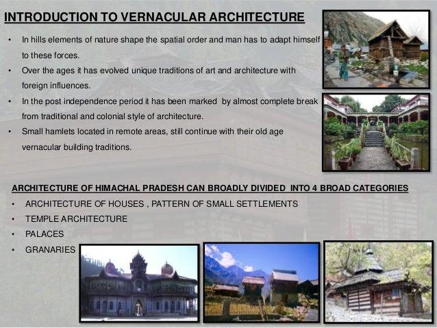 Vernacular hill Slide 3