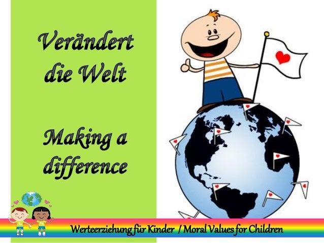 WerteerziehungfürKinder / MoralValuesfor Children