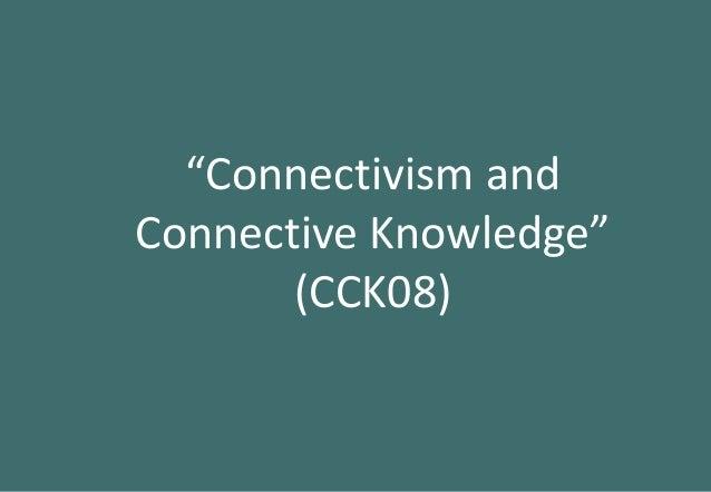 Vernetztes Lernen und MOOCs: Die ursprüngliche Idee und ihr Potenzial Slide 3