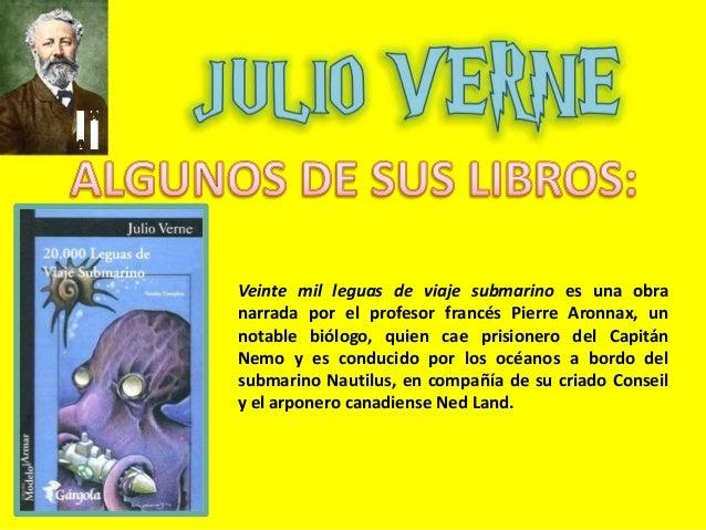 Verne vida y obras