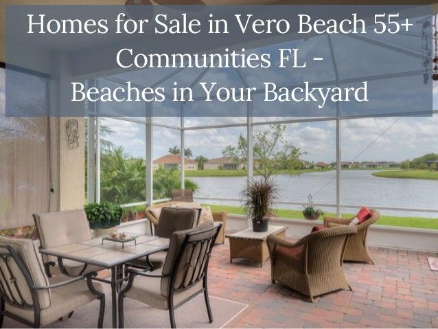 Vero Beach 55 Plus Communities   Beaches in Your Backyard