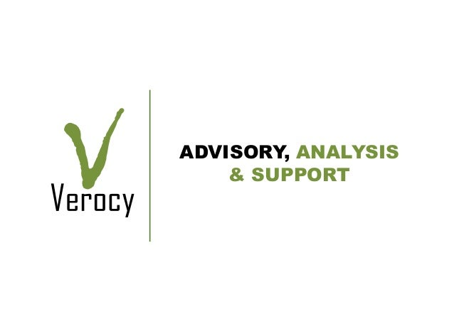 Verocy risk integrated strategy presentation