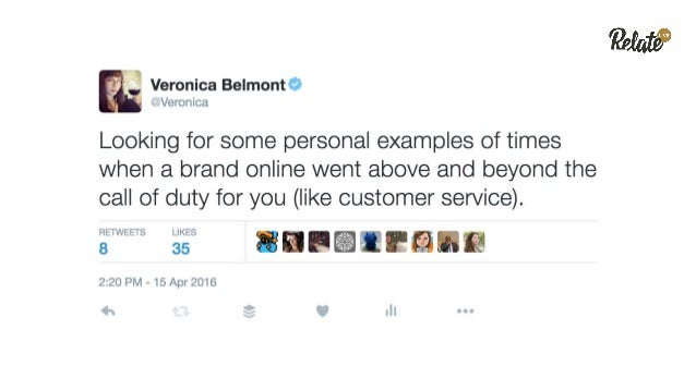 Making a Fan in the Moment of Failure: Hearing your customers on social media