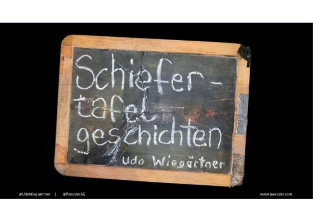 www.paessler.com@UdoWiegaertner   @PaesslerAG www.paessler.com@UdoWiegaertner   @PaesslerAG