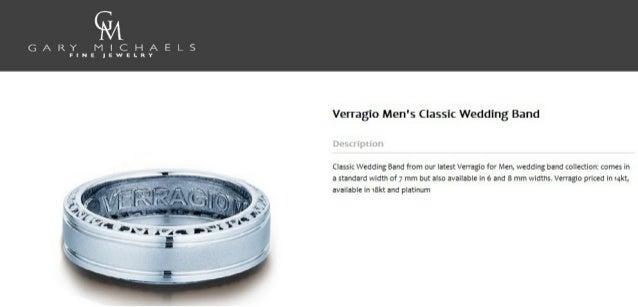 Verragio Men S Classic Wedding Band
