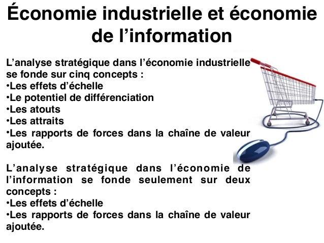 Effets d'échelles et potentiels de différenciation Comme beaucoup de progrès techniques, l'économie 2.0 a souvent pour eff...