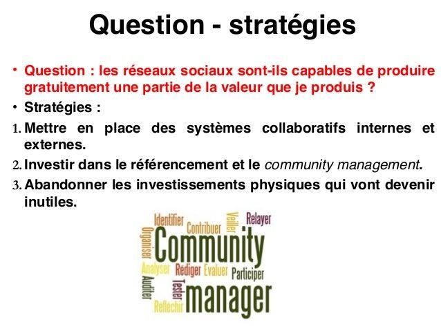 Conséquences stratégiques • Remise en question des fausses différenciations (cf. les enchères inversées).! • Augmentation ...