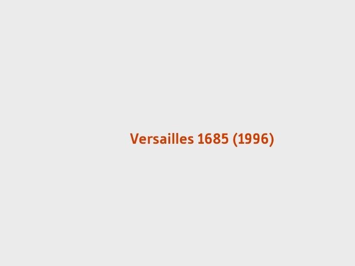 Versailles 1685 (1996)