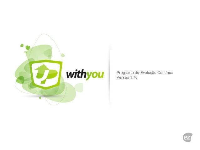 Programa de Evolução Contínua Versão 1.76
