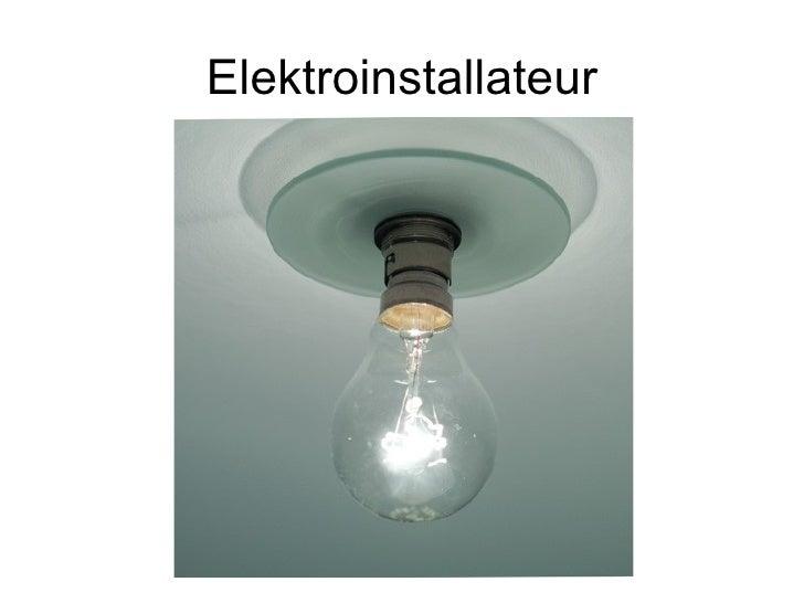 Elektroinstallateur