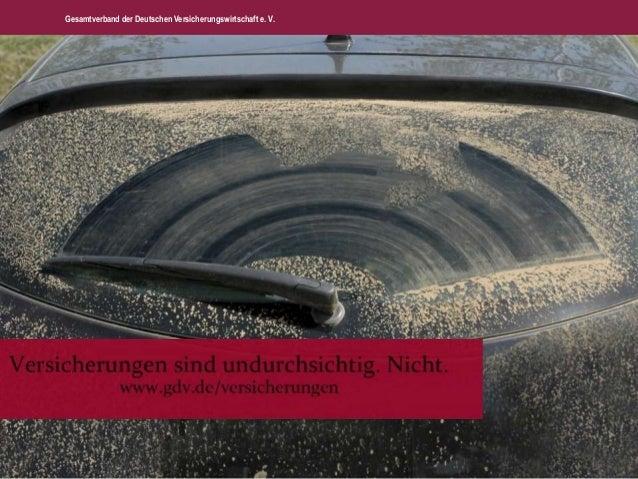 Gesamtverband der Deutschen Versicherungswirtschaft e. V.