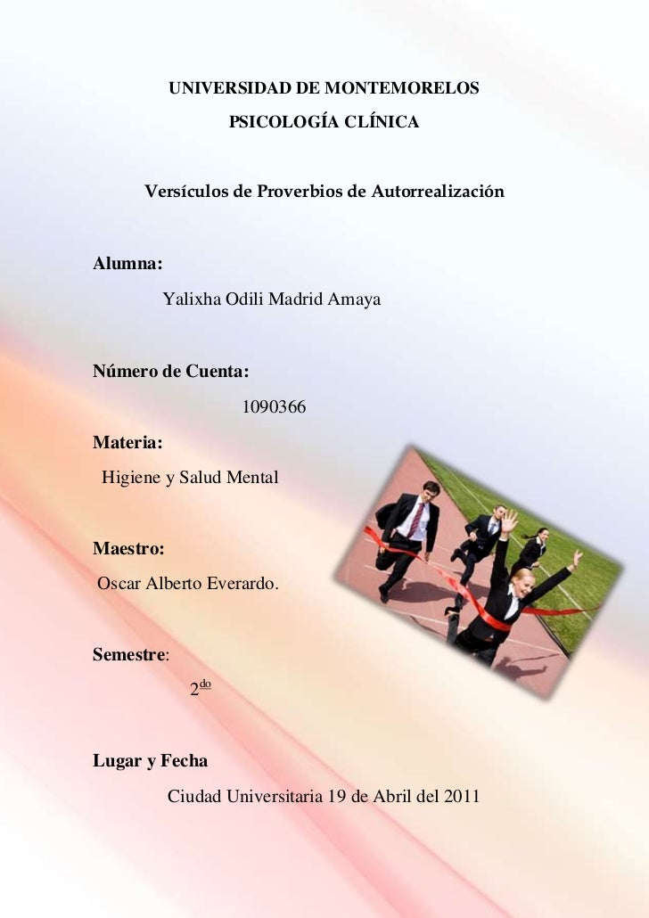 -1202975-2523644UNIVERSIDAD DE MONTEMORELOS<br />PSICOLOGÍA CLÍNICA<br />Versículos de Proverbios de Autorrealización <br ...