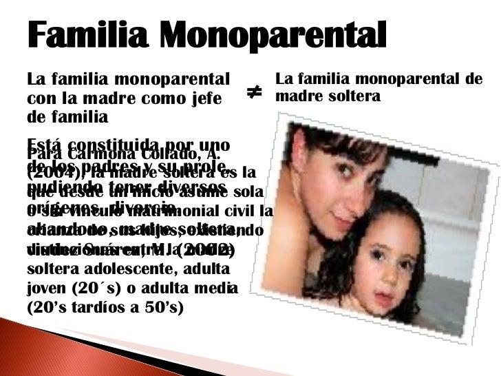 3)madres solteras y jovenes con carga familiar