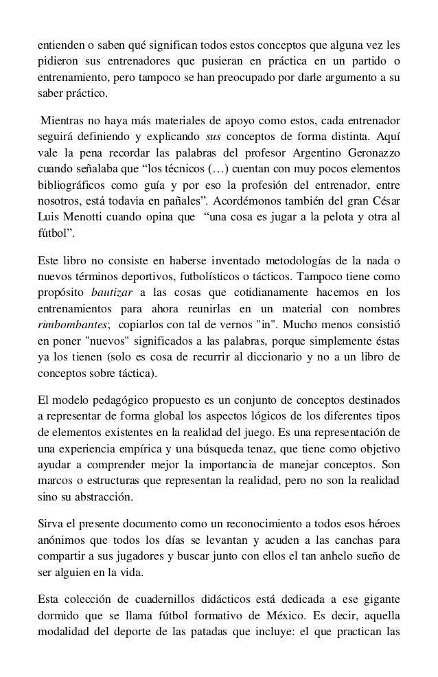 Libro Fútbol  enseñanza basada en conceptos 8723db2d44220