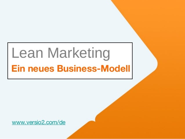 Ist Ihr Marketing müde? Zeit für Lean und Inbound Marketing! Slide 2
