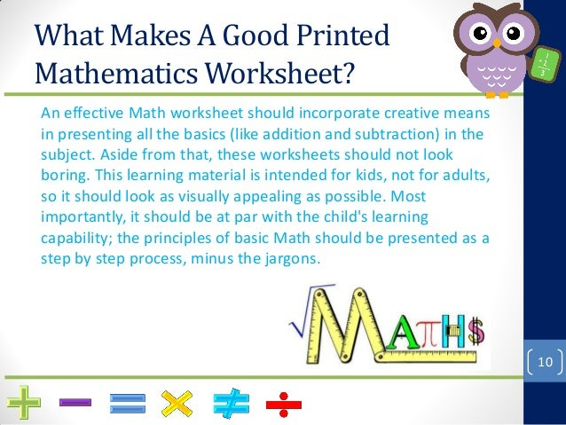 How To Make Math Fun With Printable Worksheets – How to Make Math Worksheets