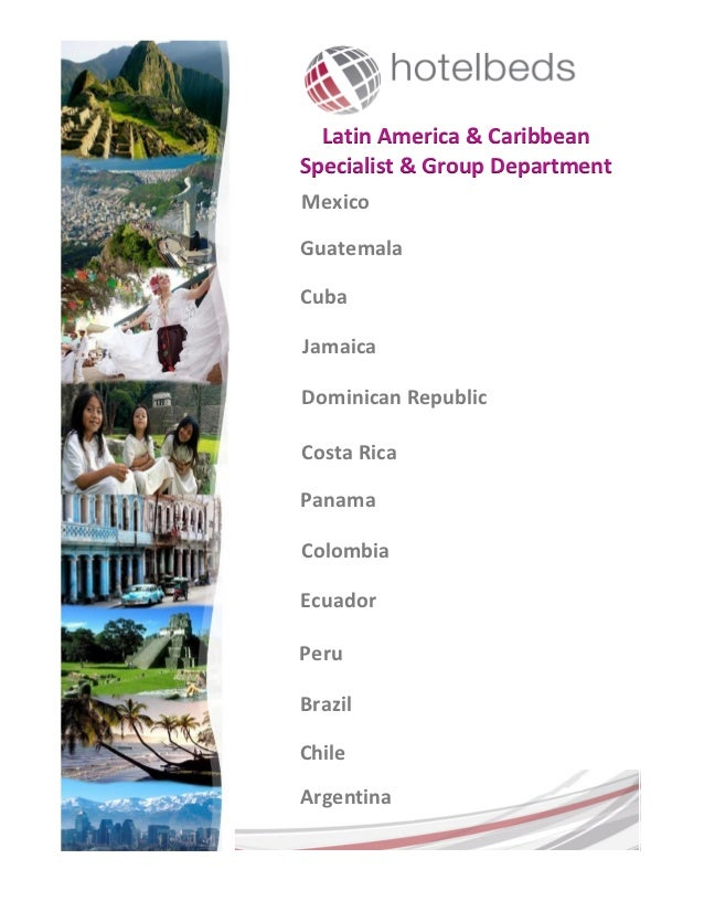 Latin America & CaribbeanSpecialist & Group DepartmentMexicoGuatemalaCubaJamaicaDominican RepublicCosta RicaPanamaColombia...