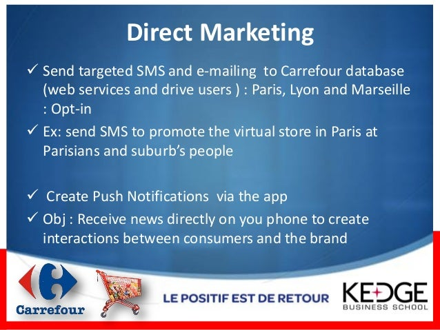 One Year Of Mobile Marketing Operations Carrefour