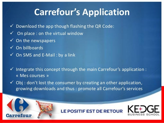 one year of mobile marketing operations carrefour. Black Bedroom Furniture Sets. Home Design Ideas