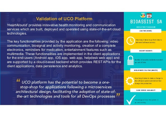 Validation of UCO Platform 'HeartAround' provides innovative health monitoring and communication services which are built,...