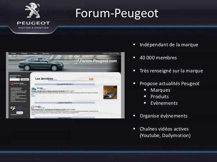 New Peugeot          Présenter la nouvelle identité de          la marque             Création le 14 Janvier 2010        ...