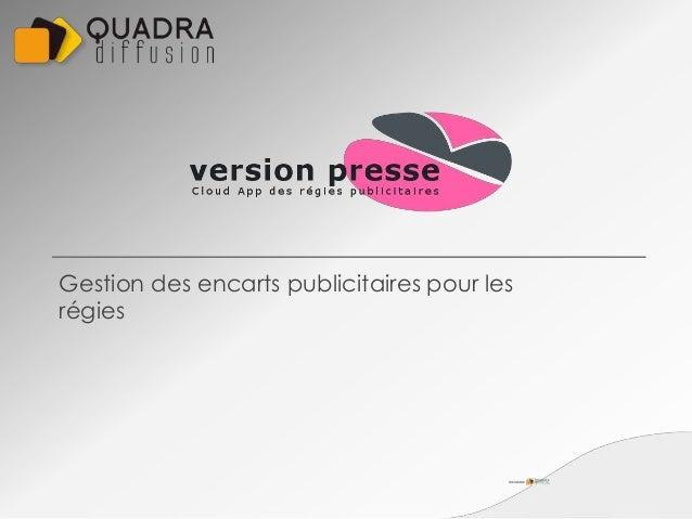 Version presse logiciel pour les r gies publicitaires for Logiciel pour empecher les fenetre publicitaire