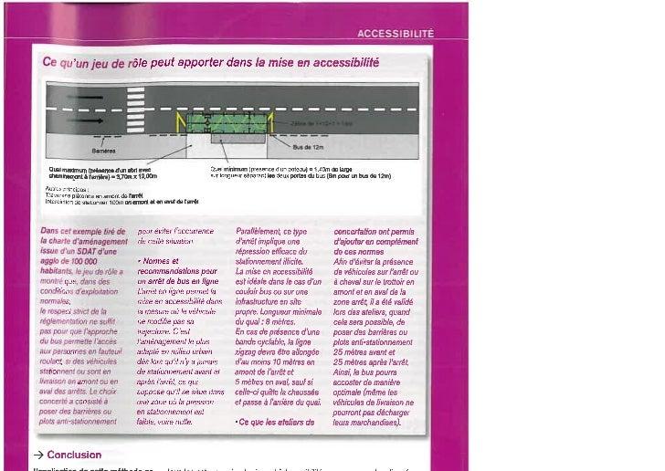 Concertation et accessibilté, Article VRT