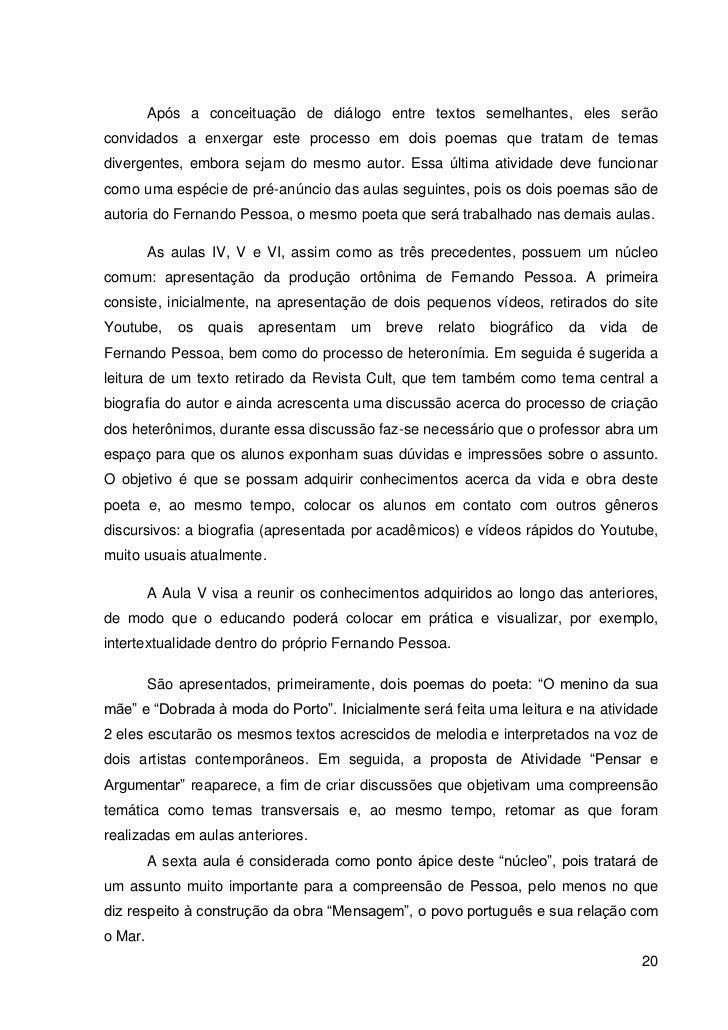 Populares Fernando Pessoa e Heterônimos: Uma proposta intertextual para o Ensin… MX59
