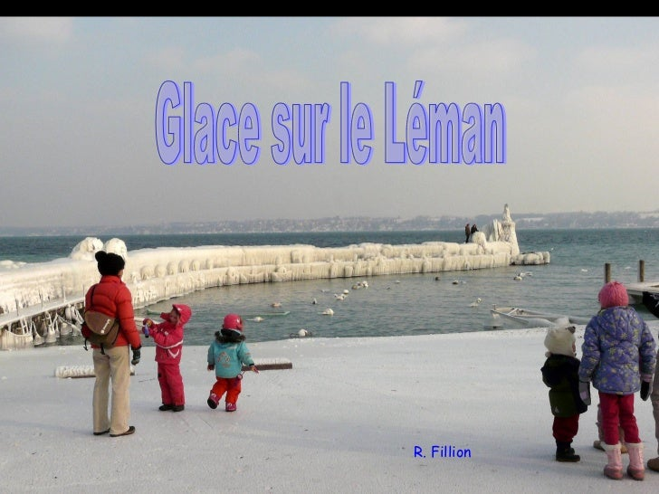 Glace sur le Léman R. Fillion