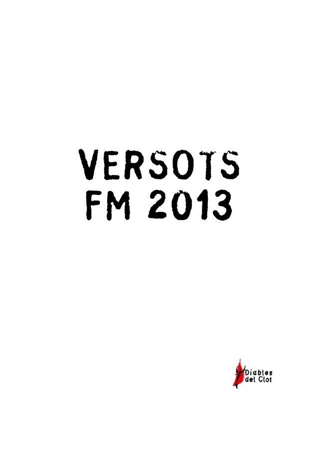 VERSOTS FM 2013