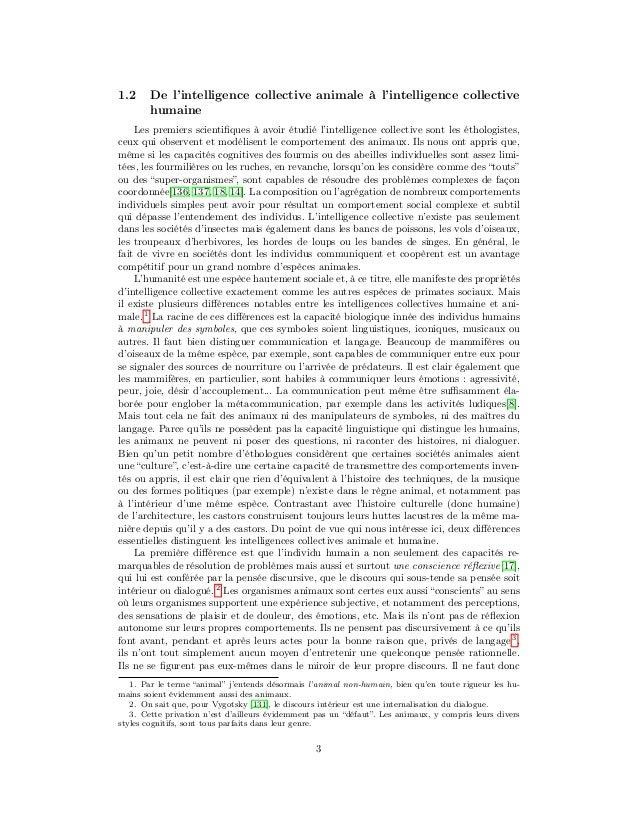 Vers une science de l'intelligence collective Slide 3