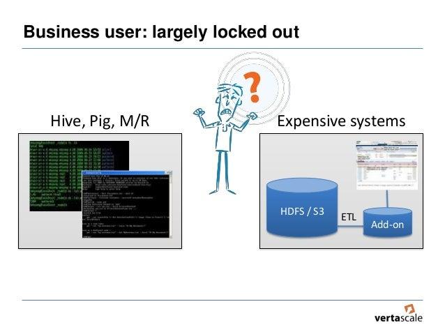 Vertascale big data business access Slide 3
