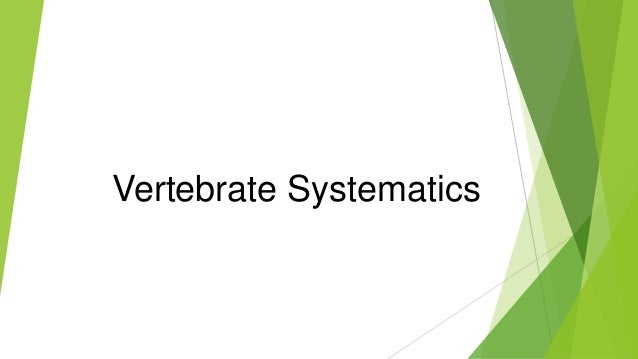 Systematics A Course Of Lectures Pdf
