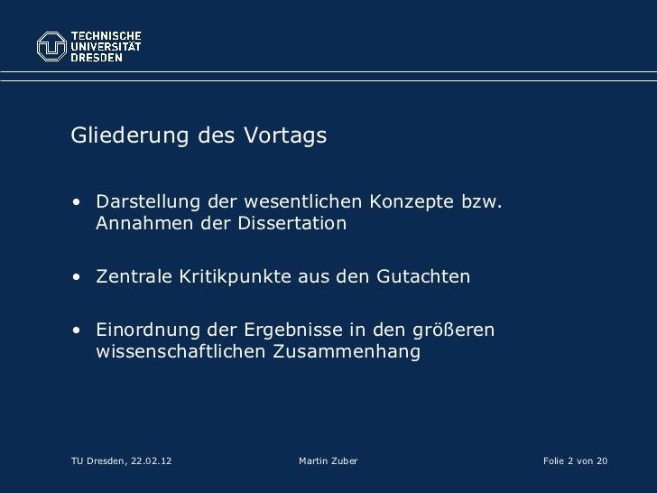 dissertation verteidigung vortrag
