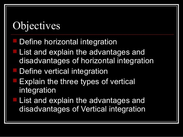 What Are Disadvantages of Horizontal Integration?