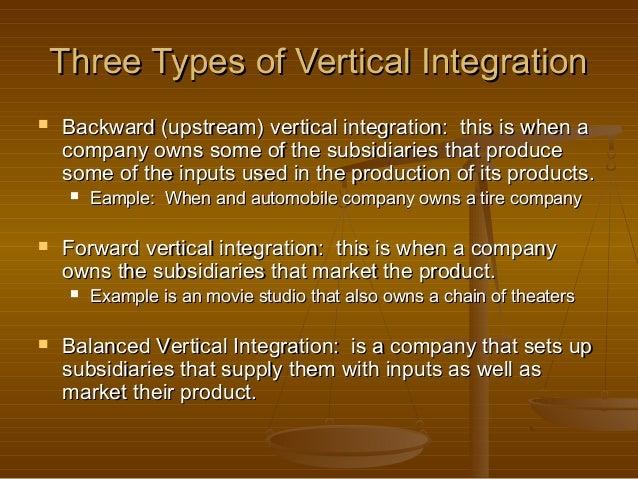 advantages and disadvantages of vertical integration pdf