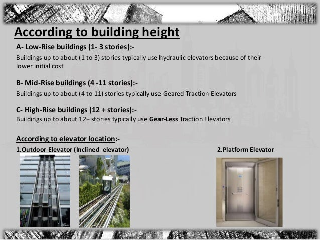 Vertical Circulation and Services of Highrise