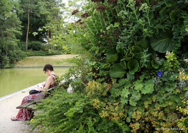 vertical greening systems   stephanie gautama   Parc Floral by Patrick Blanc