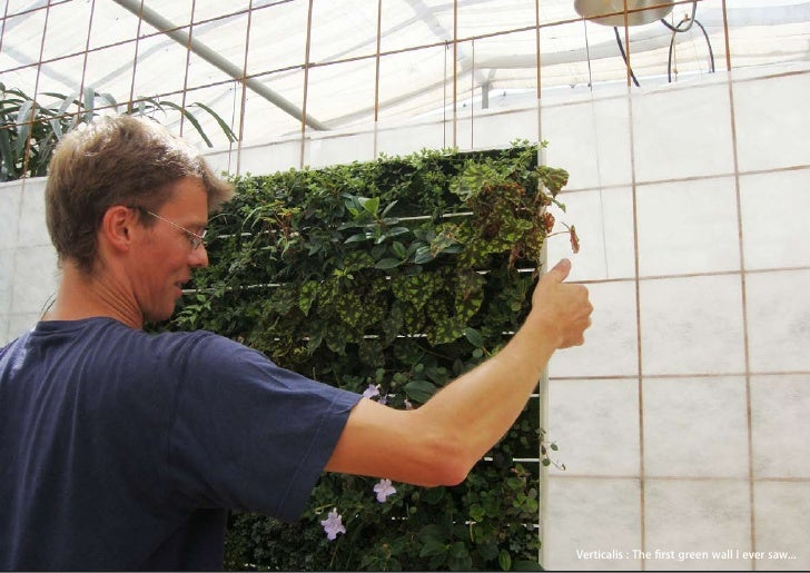 vertical greening systems   stephanie gautama   Verticalis : The first green wall I ever saw...