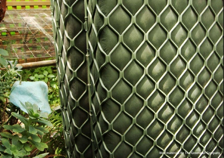 vertical greening systems   stephanie gautama   Wall materials by The Greenwall Company