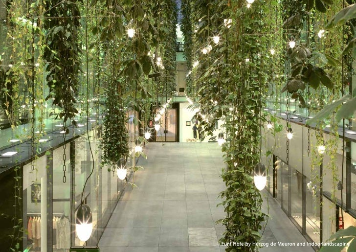 vertical greening systems   stephanie gautama   Funf Hofe by Herzog de Meuron and Indoorlandscaping