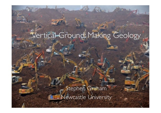 Vertical Ground: Making Geology
