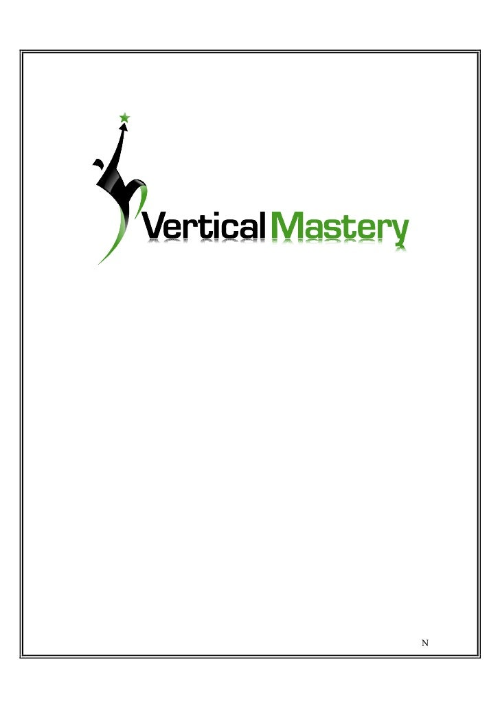 The Fundamentals ofVertical Jump Training     By Jack Woodrup                       1