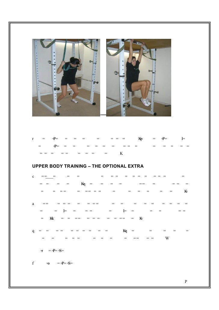 Resisted Standing Crunches and Hanging Knee RaisesUsing these 3 rules your core training needn't be too complex. Simply pi...