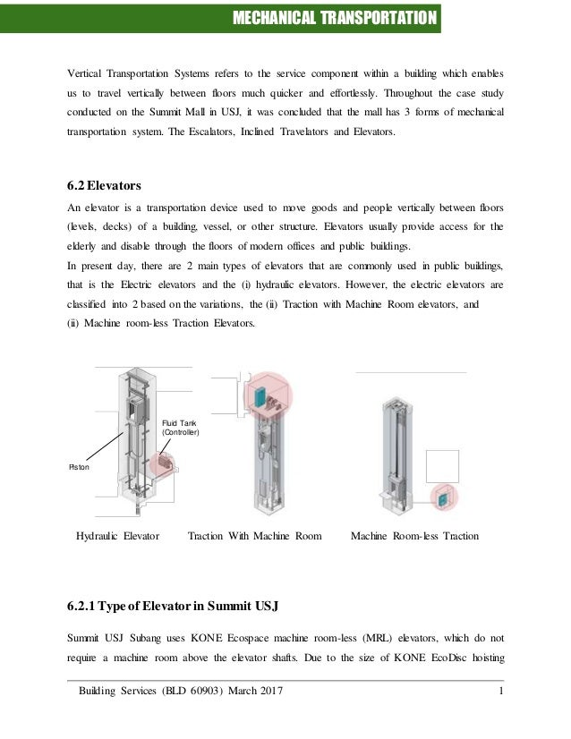 Vertical transportation system