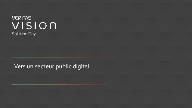 Vers un secteur public digital