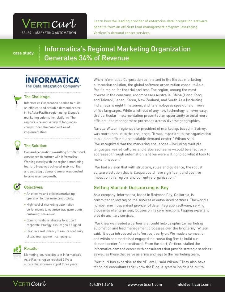 Learn how the leading provider of enterprise data integration software                                                   b...