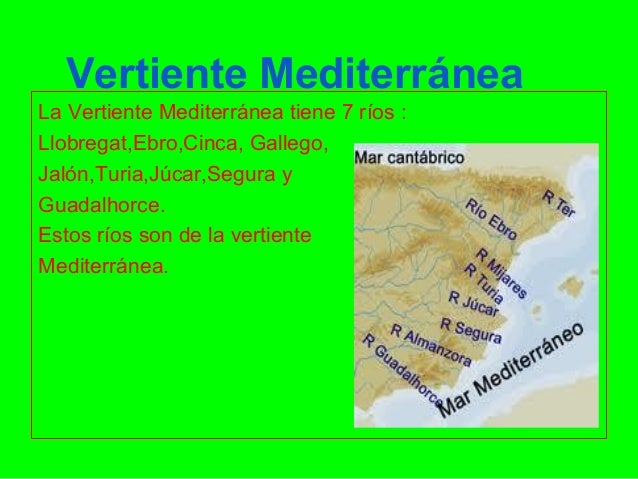 Vertiente mediterr nea - La mediterranea ...