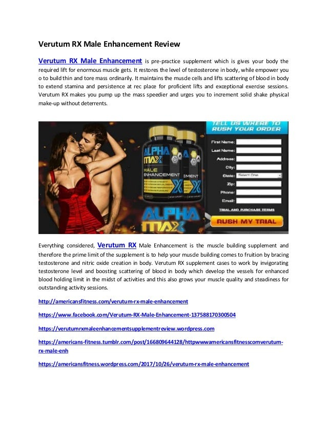 Http Www Americansfitness Com Verutum Rx Male Enhancement